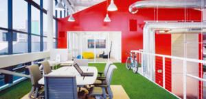 equipo de trabajo Google-oficinas