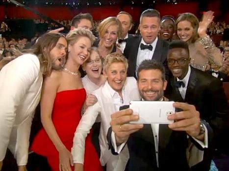 Selfie Ellen Oscares
